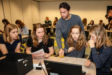 Girlsday gevierd bij HPE, Atos en IBM