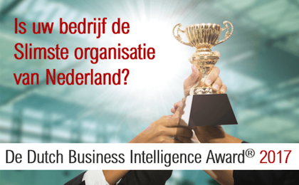 Dutch Business Intelligence Award: is uw organisatie de slimste van Nederland?