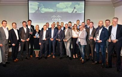 Cisco Partner Awards 2017 uitgereikt