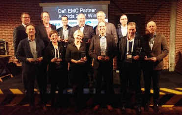 Dell EMC Nederland overhandigt Partner Awards