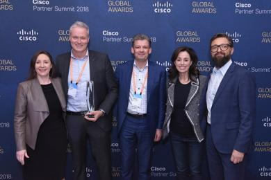 Cisco geeft internationale award aan Avit