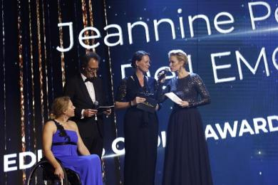 Jeannine Peek ontvangt Dutch IT-channel Editors Choice Award 2018