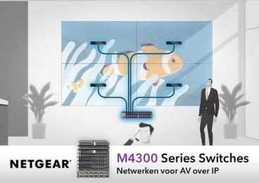 NETGEAR zet vol in op AV over IP