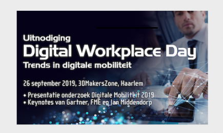 Digital Leaders en beslissers welkom op Digital Workplace Day