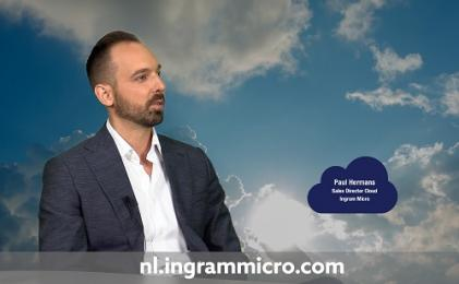 Paul Hermans van Ingram Micro te gast in Dutch IT Cloud Talkshow