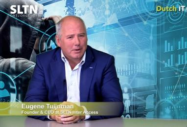 SLTN CEO Eugene Tuijnman te gast in Dutch IT Security Talkshow